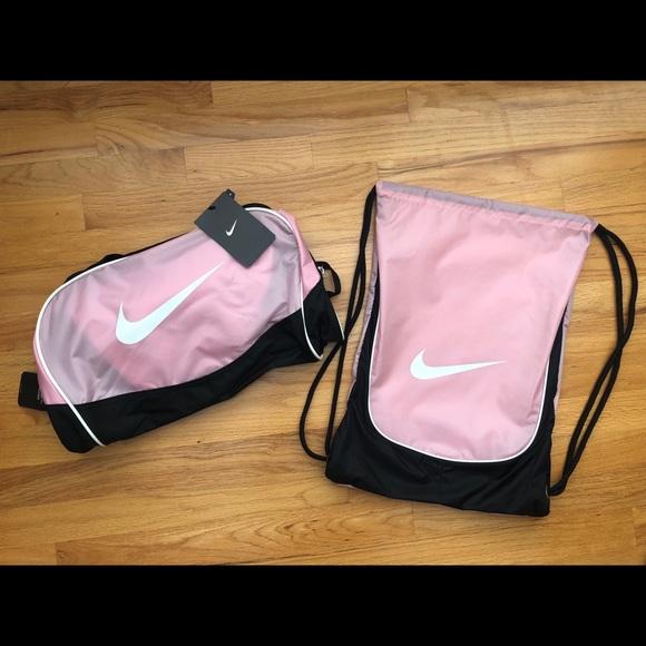 NWT Nike Duffle Bag and Backpack Set d75ee5bd2b9f1